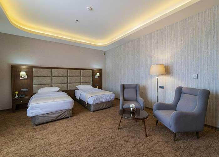 دو تخته توئین هتل امپریال ارس جلفا