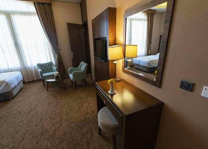 نشیمن اتاق هتل امپریال ارس