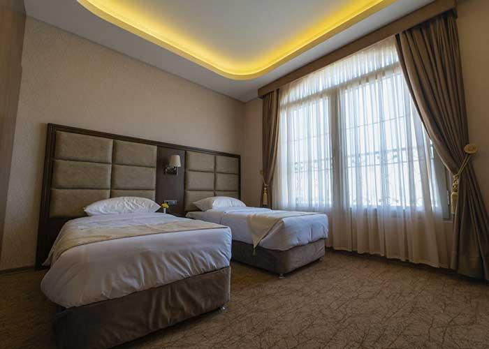 اتاق توئین هتل امپریال ارس