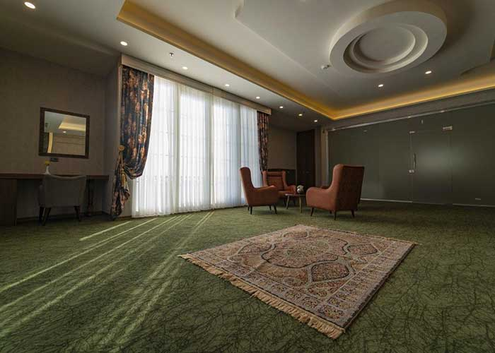 سه تخته  هتل امپریال ارس
