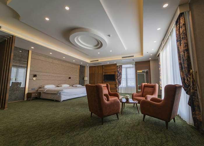 عکس سه تخته  هتل امپریال ارس