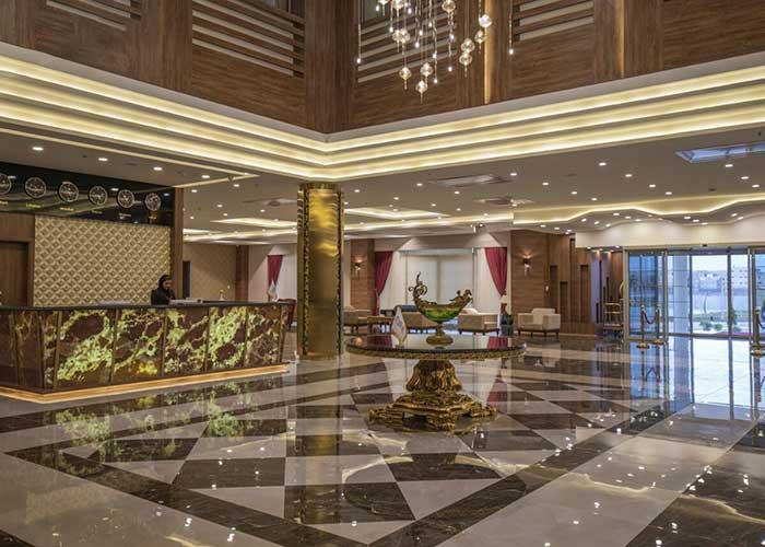 پذیرش هتل امپریال ارس جلفا