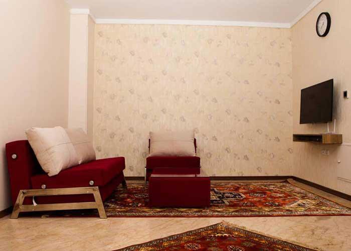 عکس اتاق یک تخته مهمانسرای آنامیس تهران