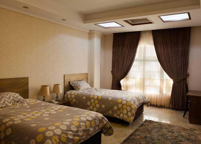 اتاق دو تخته مهمانسرای آنامیس تهران