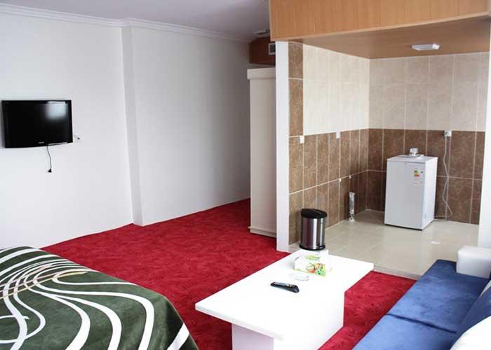 امکانات داخل اتاق هتل آپارتمان آنازا کلیبر