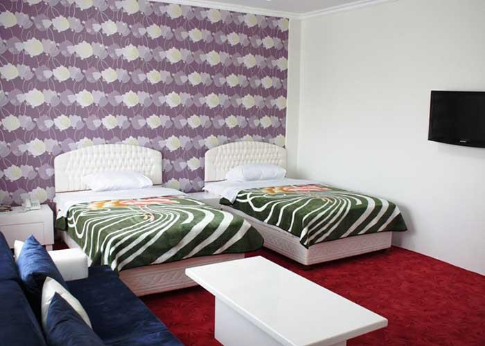 اتاق دو تخته توئین هتل آپارتمان آنازا کلیبر