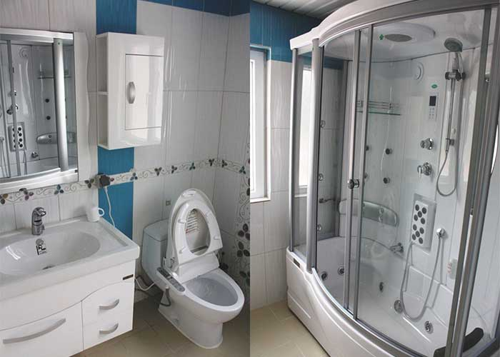 سرویس بهداشتی اتاق های هتل آپارتمان آنازا کلیبر