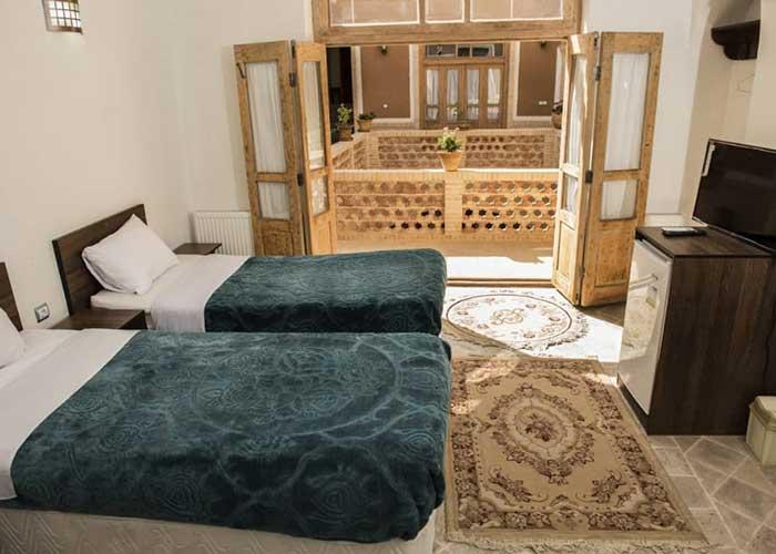 تصاویر اتاق دو تخته اقامتگاه سنتی آرا یزد