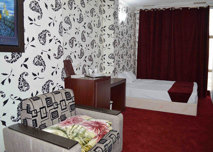 اتاق دو تخته هتل آراد مشهد