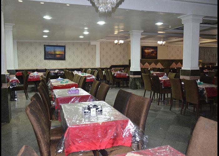 رستوران هتل آراد مشهد