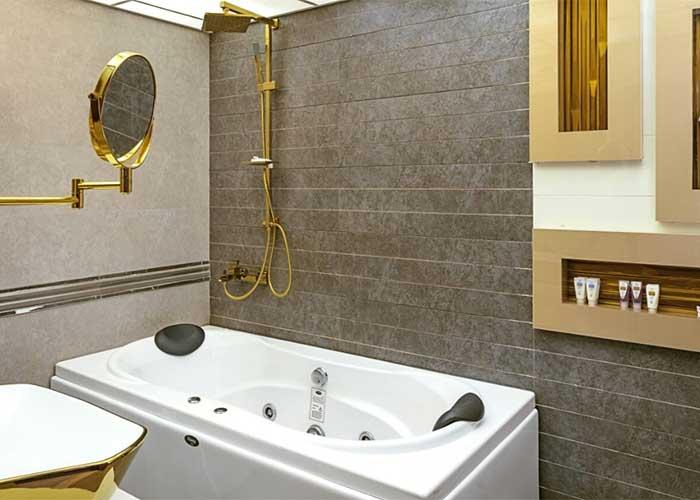 حمام اتاق های هتل آرامیس تهران