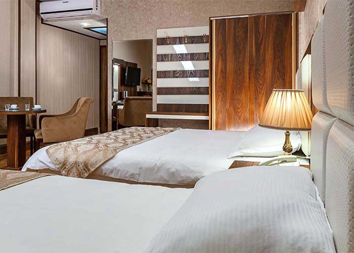 اتاق دو تخته توئین هتل آرامیس تهران