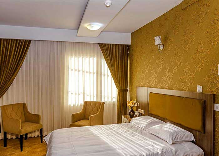 اتاق دو تخته دبل هتل آرامیس تهران