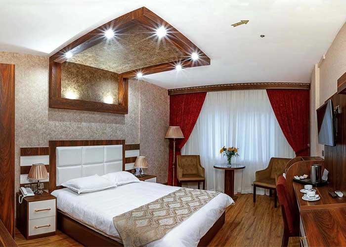 امکانات داخل اتاق های هتل آرامیس تهران