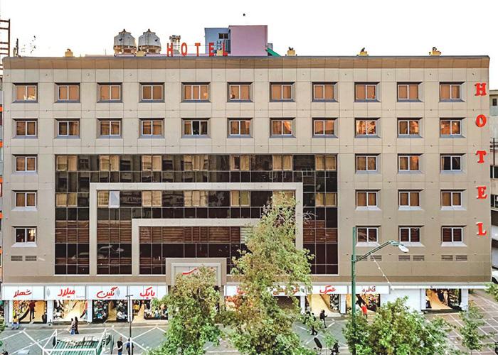 ساختمان هتل آرامیس تهران
