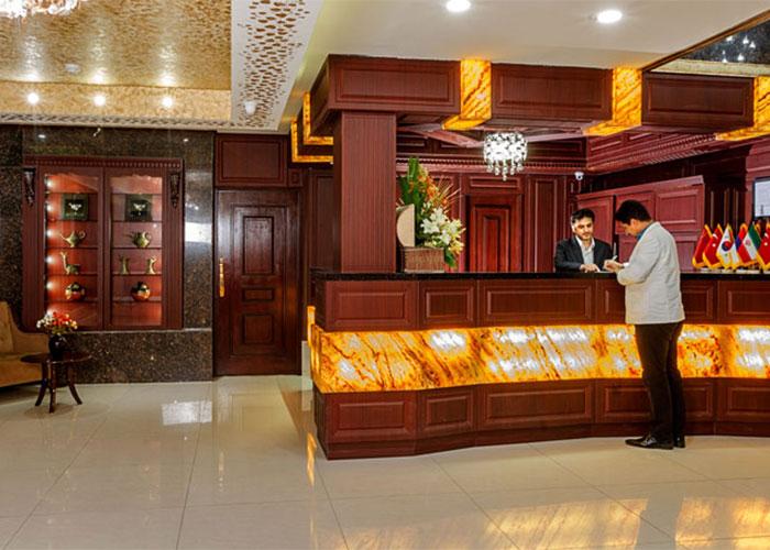 پذیرش هتل آرامیس تهران
