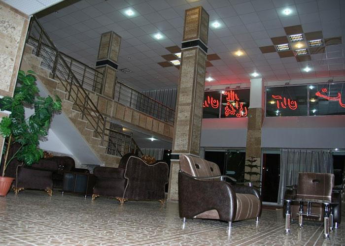 لابی هتل آران مشگین شهر