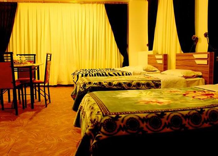 اتاق هتل آران مشگین شهر
