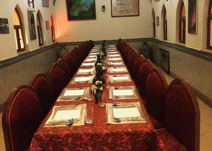 رستوران هتل ارگ گوگد گلپایگان