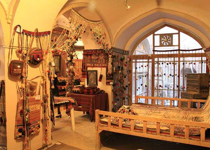 فروشگاه صنایع دستی هتل ارگ گوگد