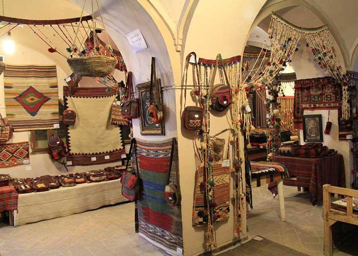 فروشگاه صنایع دستی هتل ارگ گوگد گلپایگان