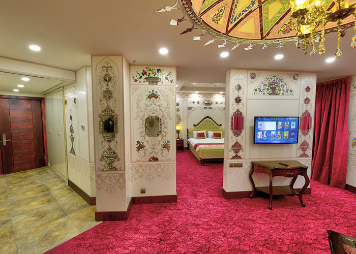 تصاویر سوئیت سوپر کلاسیک هتل ارگ جدید یزد