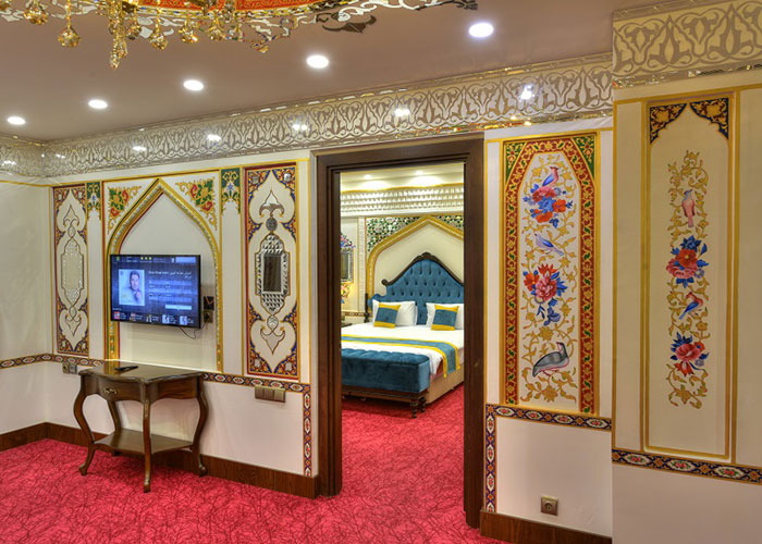 سالن سوئیت سوپر کلاسیک هتل ارگ جدید یزد