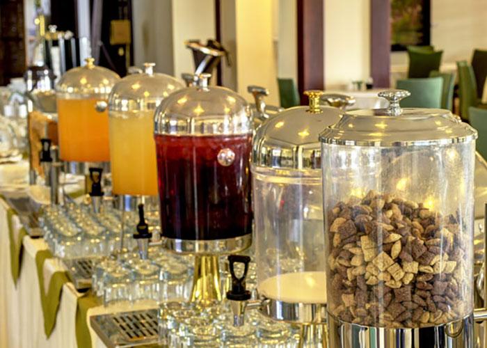تصاویر سالن صبحانه هتل ارگ جدید یزد