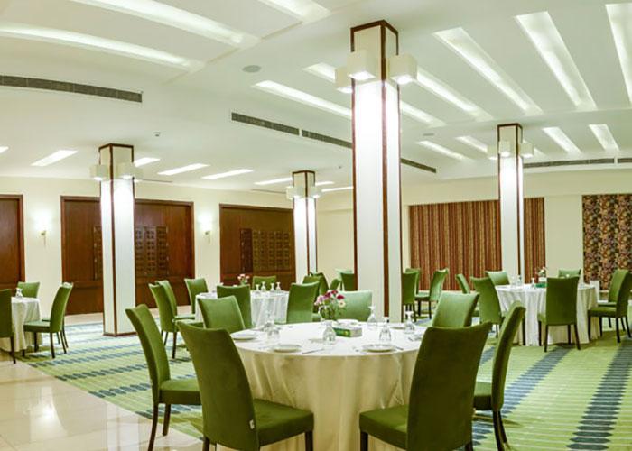 سالن صبحانه هتل ارگ جدید یزد