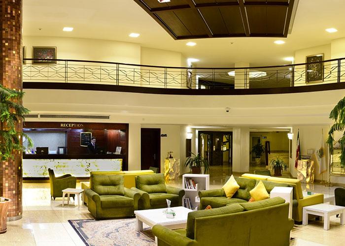 پذیرش هتل ارگ جدید یزد