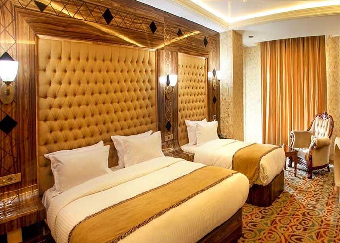اتاق دبل پلاس لاکچری هتل آریا ارومیه