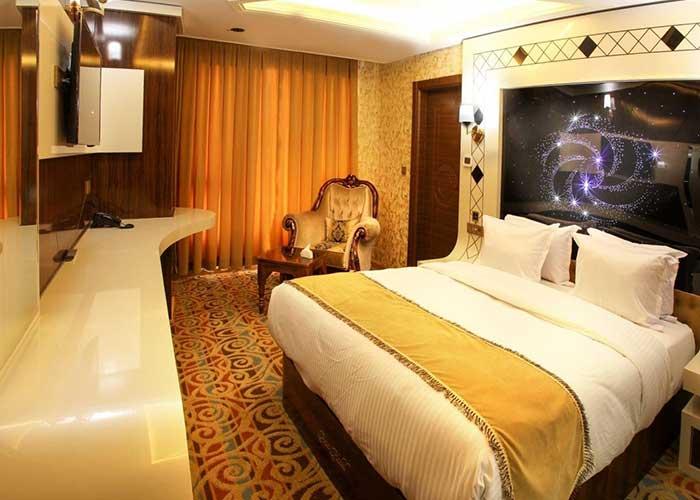 اتاق فیستا هتل آریا ارومیه