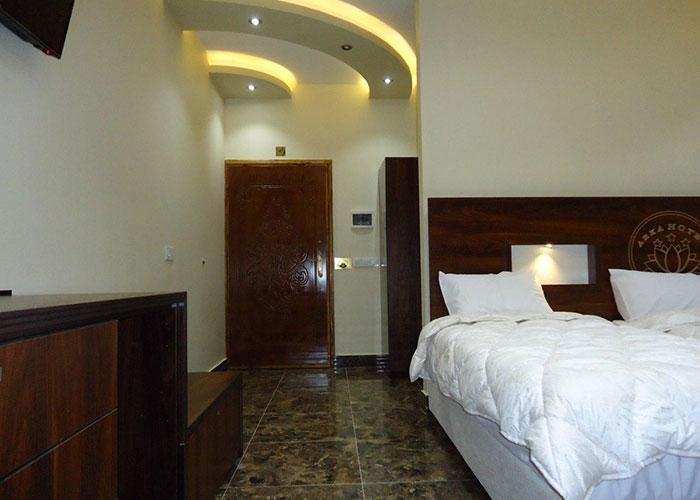 عکس اتاق هتل آرکا بندر انزلی