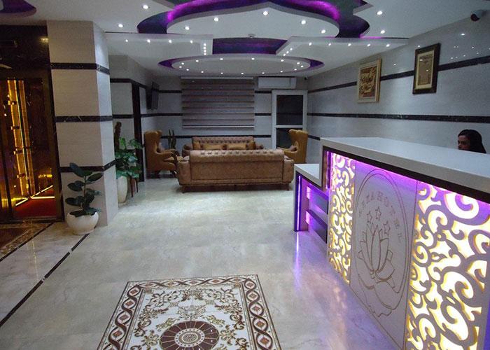 پذیرش هتل آرکا بندر انزلی