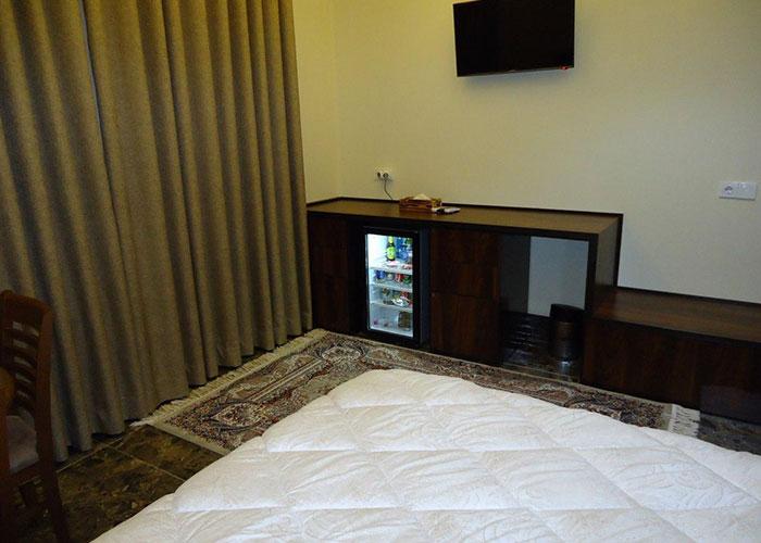 فضای اتاق هتل آرکا بندر انزلی