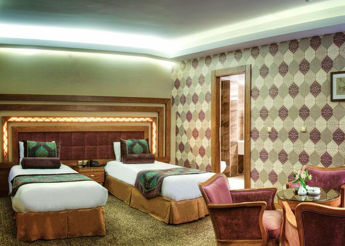 اتاق دو تخته هتل آریوبرزن شیراز