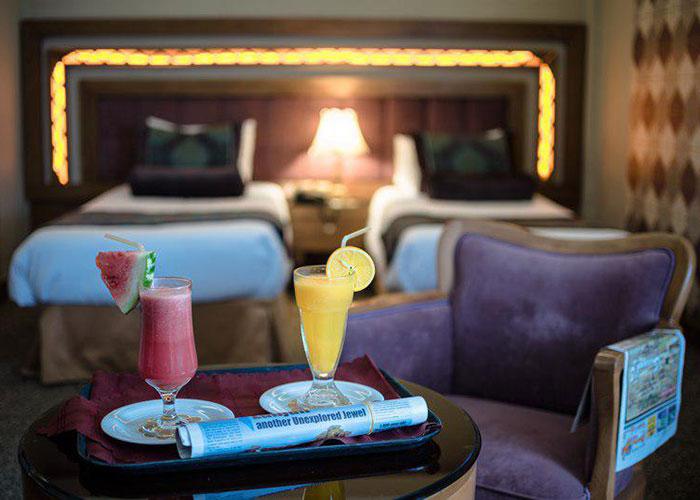 دو تخته هتل آریوبرزن شیراز