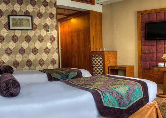 دو تخته توئین هتل آریوبرزن