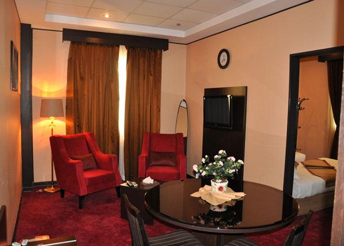 اتاق هتل آساره تهران