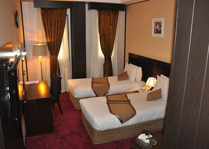 دو تخته توئین هتل آساره تهران