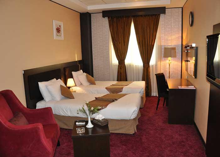 تصاویر اتاق هتل آساره تهران