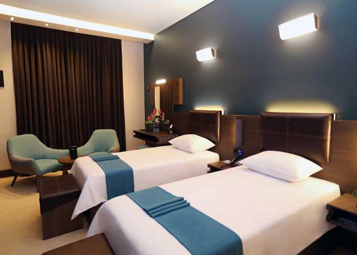 اتاق دو تخته توئین هتل آتانا تهران