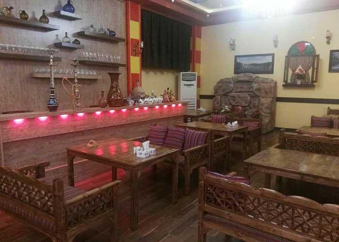 عکس چایخانه سنتی هتل اطلس شیراز