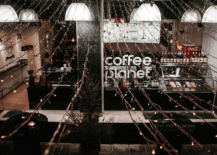 کافی شاپ هتل اطلس شیراز