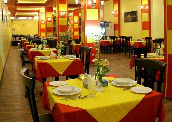 رستوران هتل اطلس شیراز