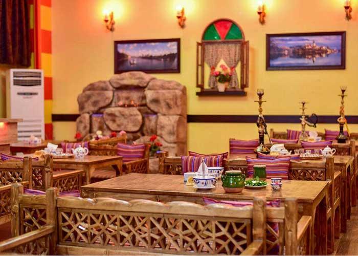 چایخانه سنتی هتل اطلس شیراز