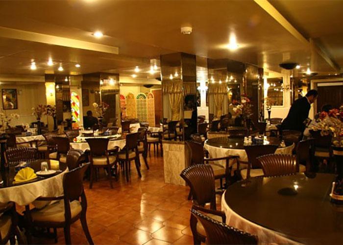 رستوران هتل اطلس تهران