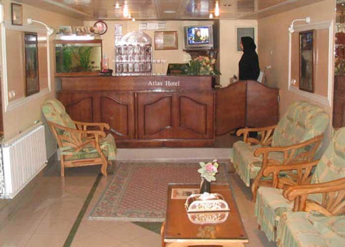 پذیرش هتل اطلس یزد