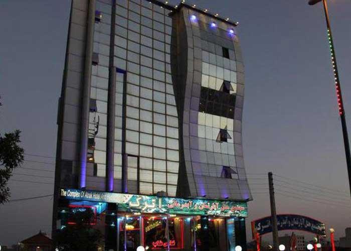 ساختمان هتل آپارتمان اترک سرعین