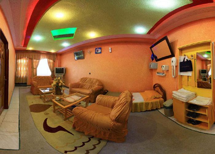 عکس اتاق هتل آپارتمان اترک سرعین